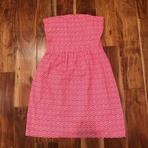 Vineyard Vines. EUC. Strapless Dress.
